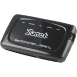 Zonet/Deltaco memory card reader/writer, external, 23-in-1, black, USB 2.0