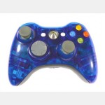 Evolve Face Plate for X360 Controller (Clear Blue)