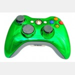 Evolve Face Plate for X360 Controller (Chrome Green)