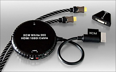 HDMI 1080i cable for Xbox 360 version w/o HDMI port (black)