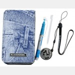 """Jeans Pouch Kit """"Blackhorns"""" for NDS Lite"""