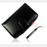"""Flip and Play Protector Leather Pouch """"Blackhorns"""" for NDS Lite (Black)"""