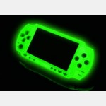 Magic Night Glow Face Plate for PSP Slim (Green)