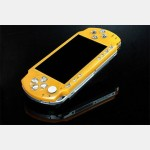 Magic Night Glow Face Plate for PSP Slim (Yellow)