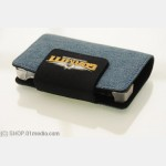 Protective Pocket for NDSL Lite / DSi, Blue Jeans-like fabric