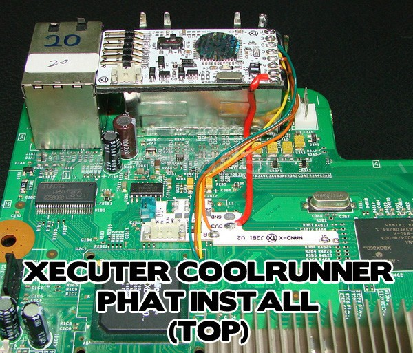 Mod Tools : TX CR (Xecuter CoolRunner) JTAG Add-on board, reset