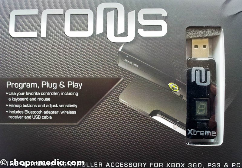 Game Pads : CronusX Wireless Modding Device and Cross-over Gaming