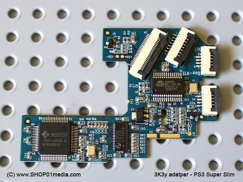 3k3y ODE - Mod chip for PS3 4000 Super Slim - SHOP01MEDIA