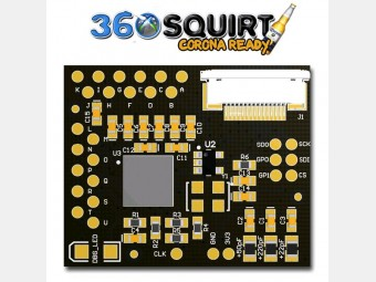 Xbox 360 mod chip Squirt 360 1.3 Micro, coolrunner, glitcher