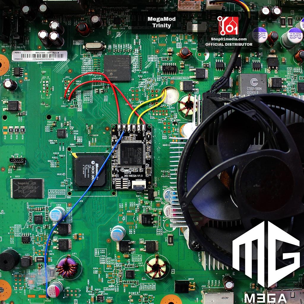 X360 Mega Mod CoolRunner, glitcher mod chip for XBox 360 - TX CR4XL
