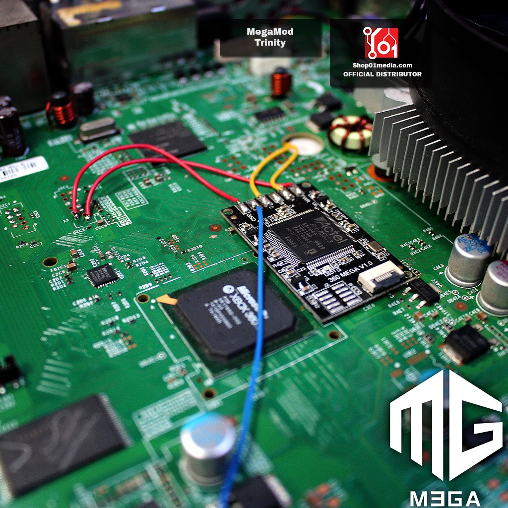 X360 Mega Mod CoolRunner, glitcher mod chip for XBox 360