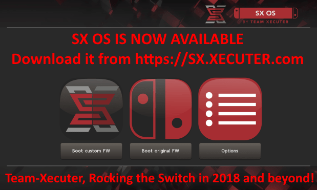 Team Xecuter SX OS Download