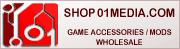 SHOP 01media - shop01media.com konsol spel tillbehör, mods, chip, reservdelar. ÅF