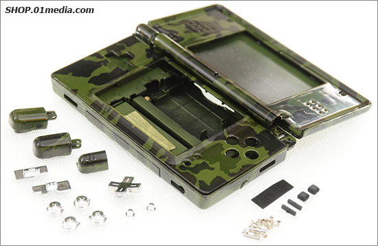 Nintendo DS Lite replacement housing case.