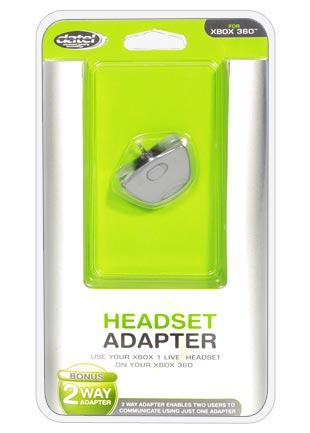 Xbox 360 headset adapter