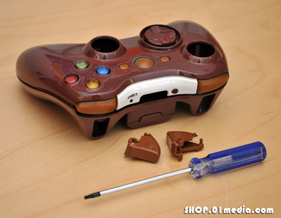 Coffee xcm wireless controler shell for Xbox 360