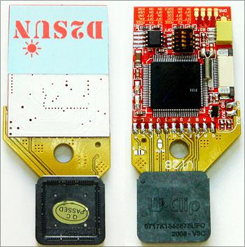 Mod chip D2Sun v3 for Nintendo Wii, support D2E chipset