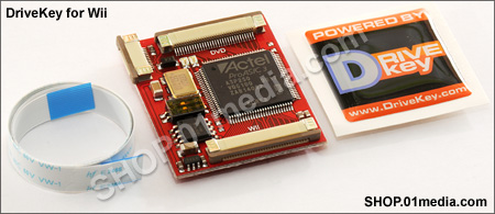 DriveKey - Wii chip for D3 / D2 nothing chipsets