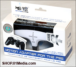 Split Fish Motion FX adapter for Sony PS2