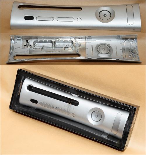 Metal facepate for xbox 360, silver - UNIQ