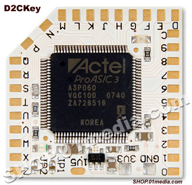 D2CKey - mod chip for Nintendo Wii