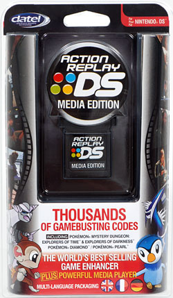 Action Replay DS cart (USB)