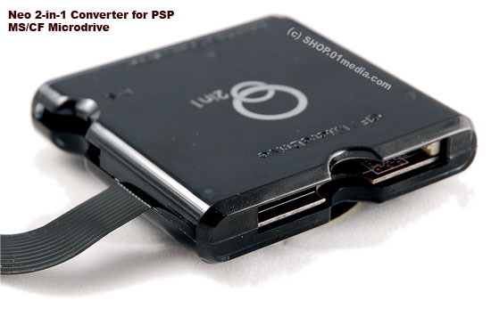 Neo 1-in-1 PSP MS/CF converter