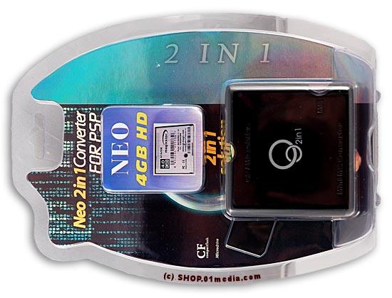 Neo 1-in-1 PSP MS/CF converter