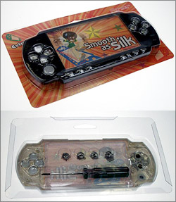 Smooth as Silk faceplate for Sony PSP
