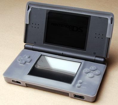 Protective silicon case for Nintendo DS Lite