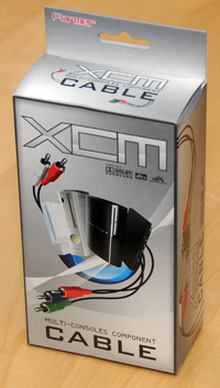 XCM Multi-Console Component Cable v2 (Wii, PS2, PS3, Xbox 360, any TV system)