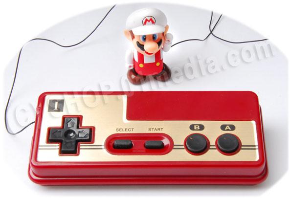 Nintendo prize series - wired control Mario figure