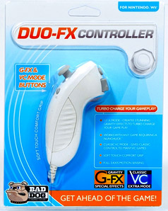 Duo-FX Wii controller