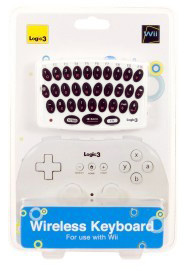 Wii wireless keyboard, Logic 3